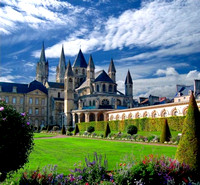 Christian Brothers Cloister in Caen, Normandy