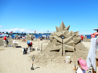 Parksville Annual Sandcastle Competition July 2017