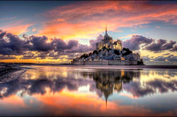 Mont St Michel, north coast of France