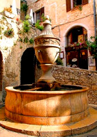 lovely fountain in St Paul, Provence