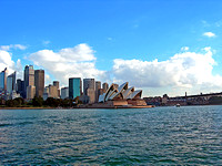 Opera House by the water - Sydney, Australia